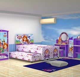 Sofia The First Room set