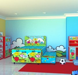 Mr. Bump Room set